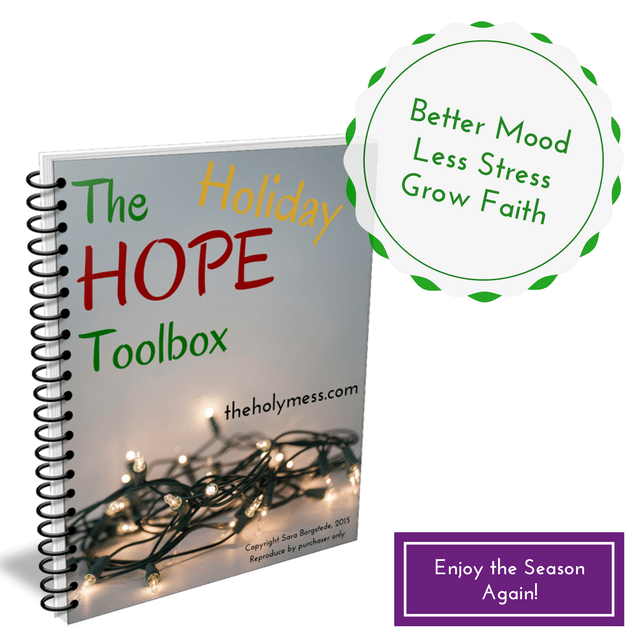 The Holiday Hope Toolbox|The Holy Mess