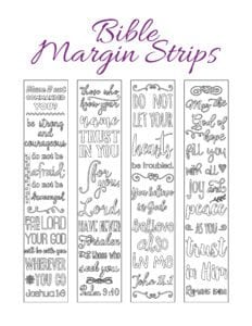 Traceable Margin Strips