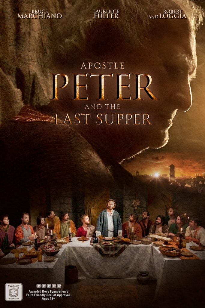 """Poster for the movie """"Apostle Peter and the Last Supper"""""""