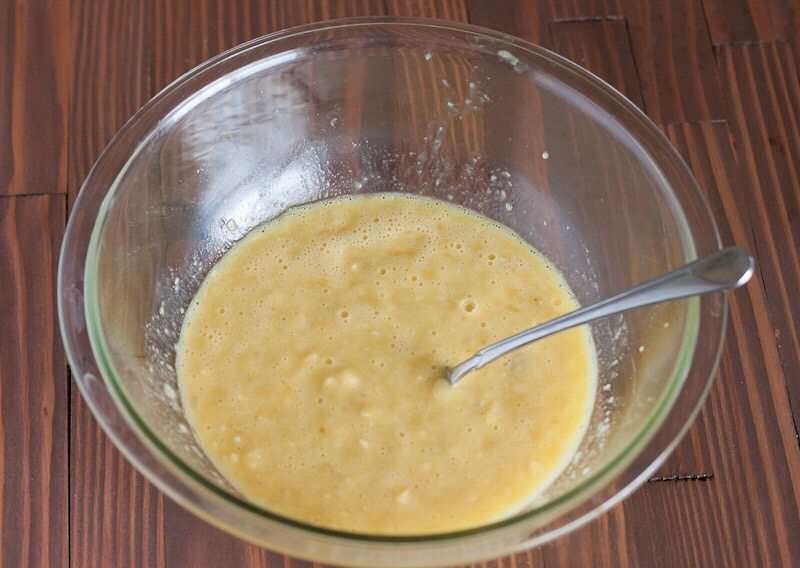 Banana souffle