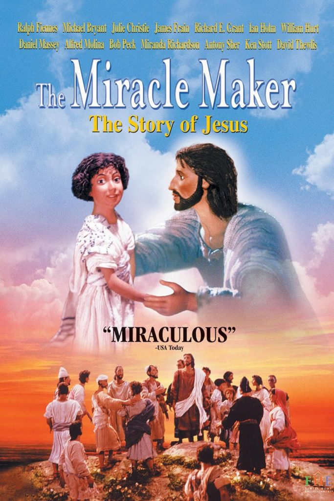 """Poster for the movie """"The Miracle Maker"""""""