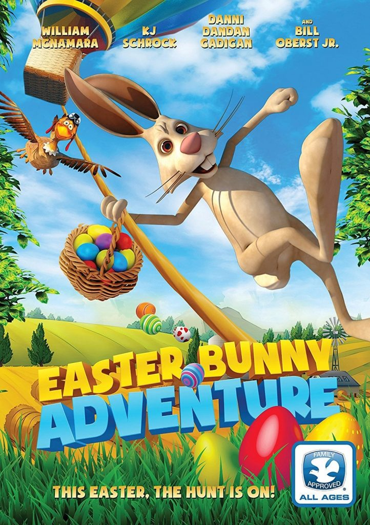 """Poster for the movie """"Easter Bunny Adventure"""""""
