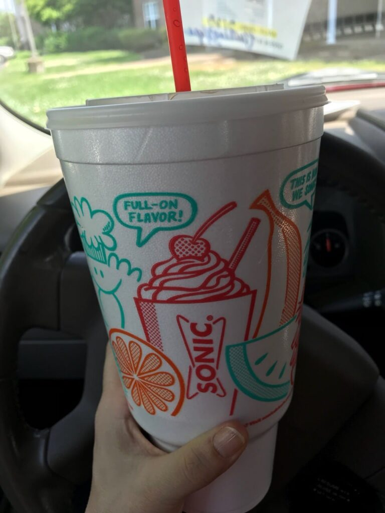 Sonic Route 44 Diet Dr Pepper with Real Cherries